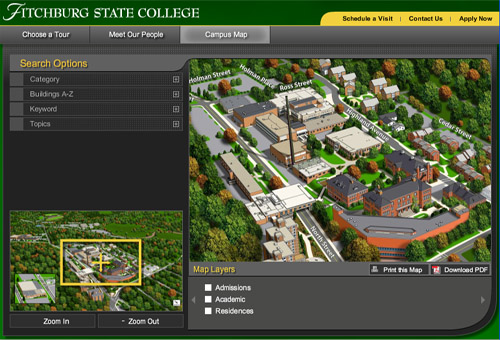 Fitchburg State College Tours