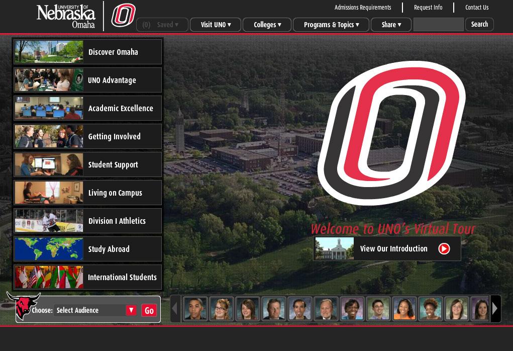 The University Of Nebraska Omaha Virtual Tour Interactive Campus