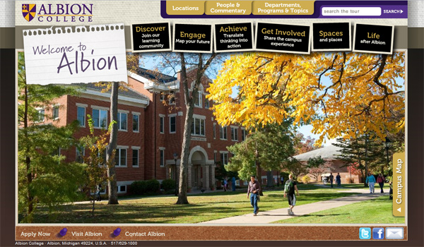 Albion College Virtual Tour Project