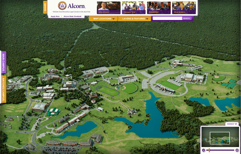 Alcorn State University Campus Tour