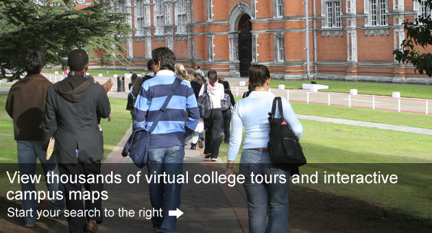 CampusTours:  Virtual College Visits, Interactive Maps & Online Orientation Systems