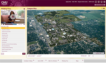 CampusTours - Interactive Virtual Tours and Campus Maps